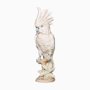 Porcelain Figure of a Cockatoo from Royal Dux