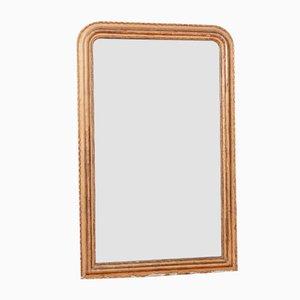 Specchio antico in legno dorato, Francia