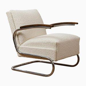 Italienischer Gelber Sessel, 1950er