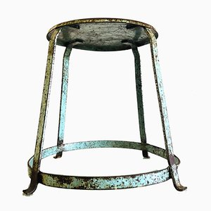 Industrial Metal Work Stool