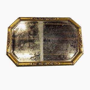 Antiker Spiegel mit Vergoldung