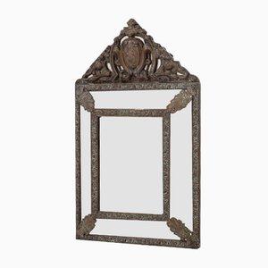 Specchio da parete in ottone, Francia