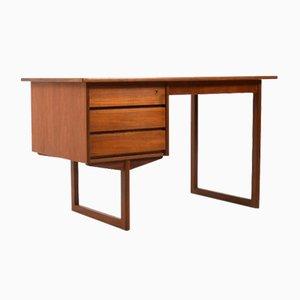Mid-Century Danish Teak Freestanding Desk
