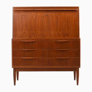 Danish Secretaire by Erling Torvits for Klim Møbelfabrik, 1960s