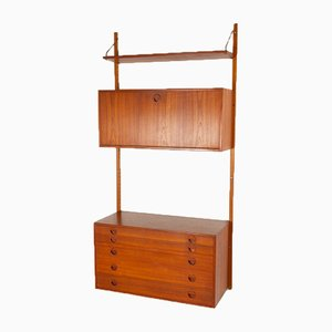 Danish Teak Wall Unit from HG Furniture, 1960s