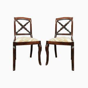 Empire or Restoration Period Chairs, 1810s, Set of 2