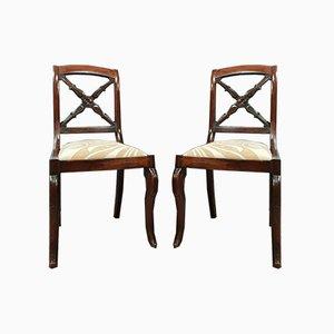 Sedie imperiale o da restauro, inizio XIX secolo, set di 2