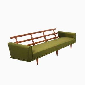 Dänisches Mid-Century Teak 4-Sitzer Sofa