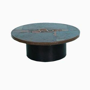Table Basse Slate Vintage par Paul Kingma