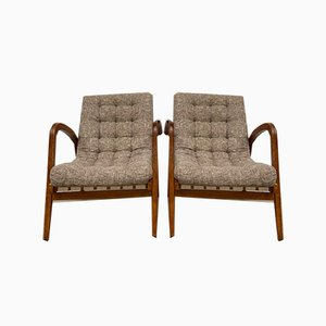 Vintage Armchairs from Krásná Jizba, Set of 2