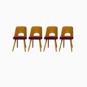 Chaises Vintage par Oswald Haerdtl, Set de 4