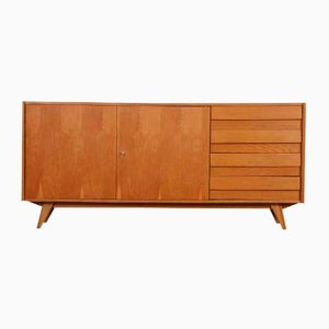 Oak Model U-460 Dresser by Jiri Jiroutek for Interier Praha, 1960