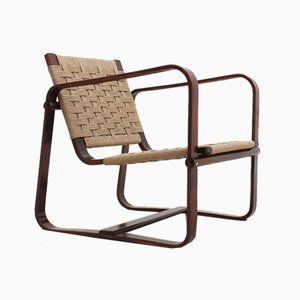 Lounge Chair by Giuseppe Pagano for Gino Maggioni, 1940s