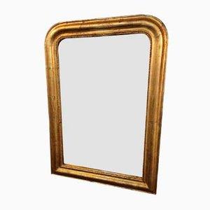 Specchio Luigi Filippo dorato