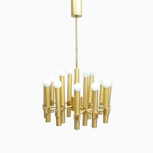 Chandelier by Angelo Brotto for Esperia, Italy, 1960s