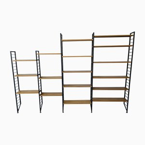 Ladderax Vintage 4 Bay Wall Shelving Unit from Staples Cricklewood