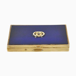 Cigarette Holder in Brass and Lacquered Metal from Gucci, 1960s