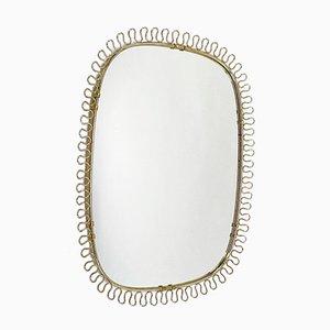 Mid-Century Wall Mirror by Joseph Frank