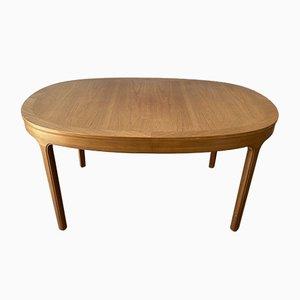 Mesa de comedor vintage grande ovalada