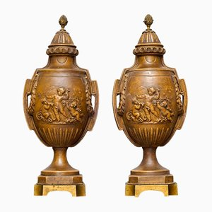 Urns, 1900s, Set of 2