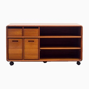 Small Danish Teak Phono Sideboard from Dyrlund, 1970s