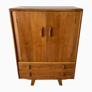 Mid-Century Storage Cabinet Cupboard with Drawers