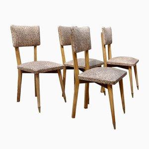 Französische Stühle, 1950er, 4er Set