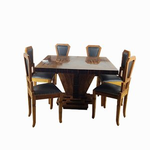 Art Deco Dining Room Set by Osvaldo Borsani