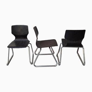 Children's Chairs by Elmar Flötotto for Pagholz, Set of 3