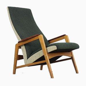 Scandinavian Vintage Mid-Century Folding Armchair, 1950s