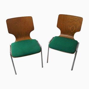 Skandinavische Vintage Stühle von DUBA, 2er Set