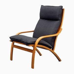 Sillón estilo escandinavo de teca, años 60