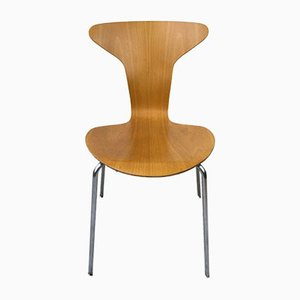FH 3105 Mosquito Chairs by Arne Jacobsen for Fritz Hansen, 1965, Set of 6