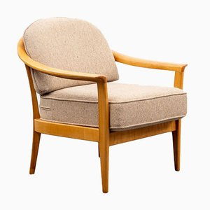 Sessel aus Kirschholz von Walter Knoll / Wilhelm Knoll, 1960er
