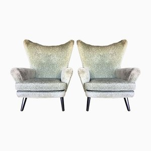 Mid-Century Butterfly Back Armchairs from G-Plan, Set of 2