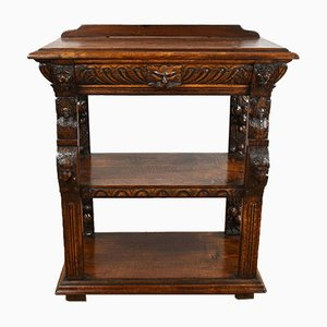 Late 19th Century Carved Oak Buffet