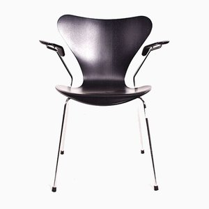 Black Butterfly Series 7 Armchair by Arne Jacobsen for Fritz Hansen