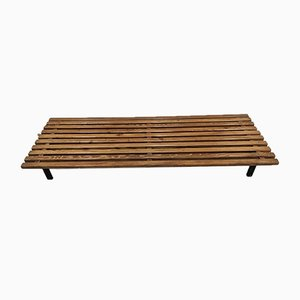 Vintage Cansado Bench by Charlotte Perriand for Steph Simon