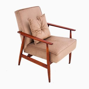 Vintage Polish Armchair by H. Lis, 1960s