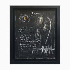 Blackboard - Mixed Technique on Canvas - Massimo D'Orta - Italy 2013