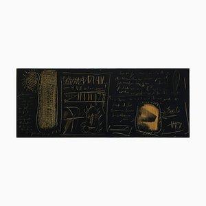 Epigrafe - Técnica mixta sobre lienzo - Massimo D'Orta, Italy, 2007