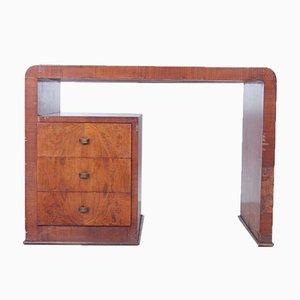 Doppelseitiger Italienischer Art Deco Schreibtisch