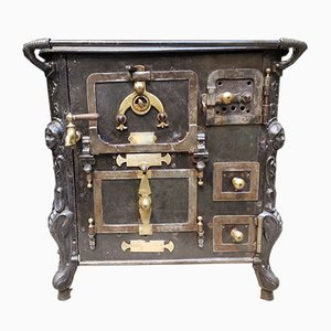 Antique Stove Turned Into Cupboard