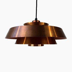 Lámpara colgante Nova de Jo Hammerborg para Fog & Mørup, años 60