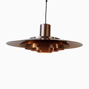 Lampe à Suspension P376 KF2 par Preben Fabricius & Jorgen Kastholm, 1960s