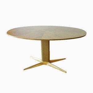Tavolino da caffè ovale di Oswald Haerdtl per Hagenauer Vienna, anni '50
