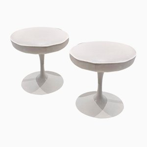 Vintage Tulip Stools by Eero Saarinen for Knoll, Set of 2