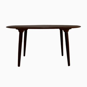 Danish Wooden Starburst Inlay Coffee Table