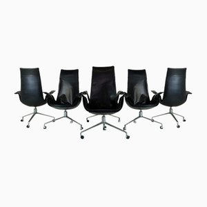 Highback FK6725 / Bird Chairs by Preben Fabricius & Jørgen Kastholm for Kill International Germany, Set of 6