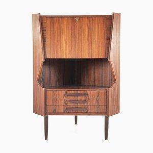 Rosewood Bar Cabinet, Denmark, 1950s
